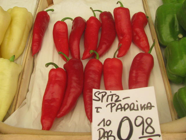 Paprika peppers - copyrights incl. electronic rights by E. M. Giacon castleman 2014