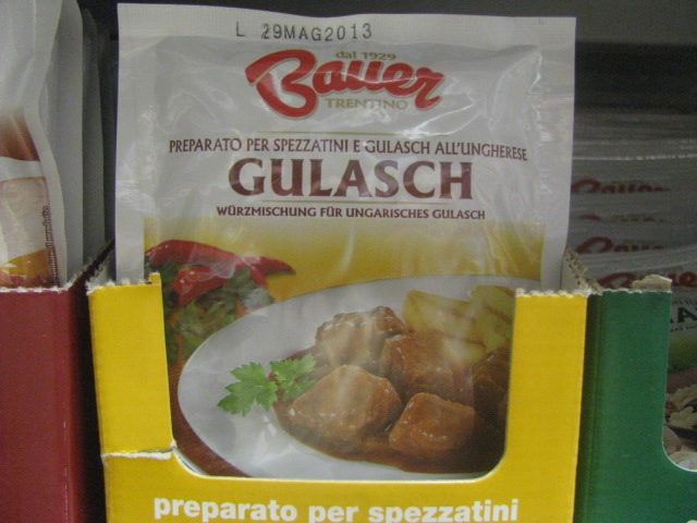Commercial Gulasch Powder - copyrights incl. electronic rights by E. M. Giacon Castleman