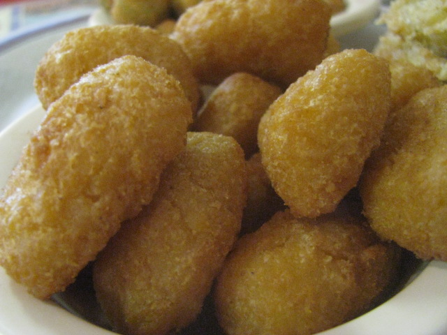 Fried Nuggets at the Annex Restaurant in Pascagoula, Mississippi