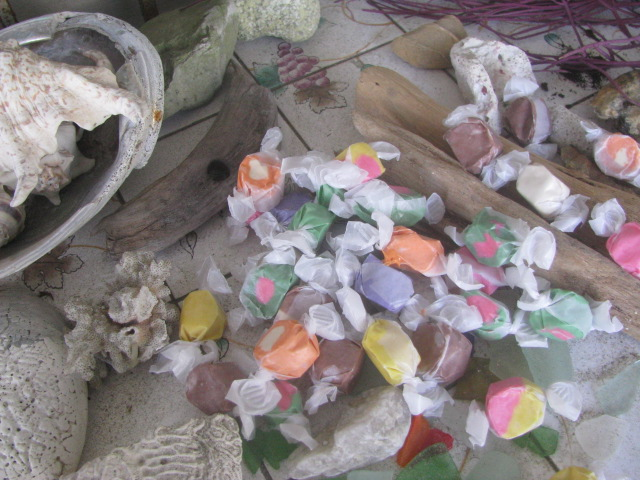 Salt Water Taffy in Virginia Beach, Virginia