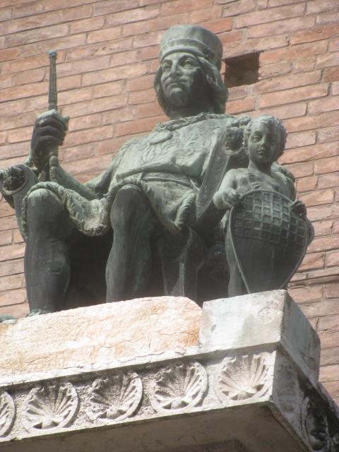Ferrara's ruler Borso d'Este