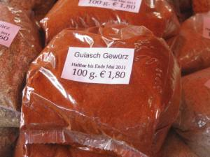 paprika for goulash