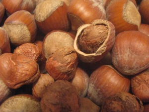 Whole Hazelnuts in their Shells
