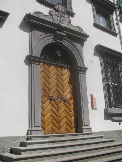 Door to the Mercantile Magistrate - Bozen/Bolzano (built XVII century)