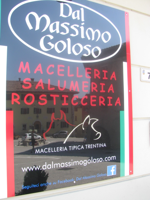 Massimo Goloso, Mortandela and Sausage Maker in Coredo, Val di Non