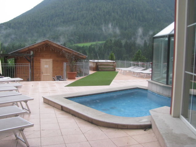 Hotel Cavallino Bianco, Outdoor and Indoor Convertable Pool, Sauna and Spa, Marcena/Rumo, Val di Non