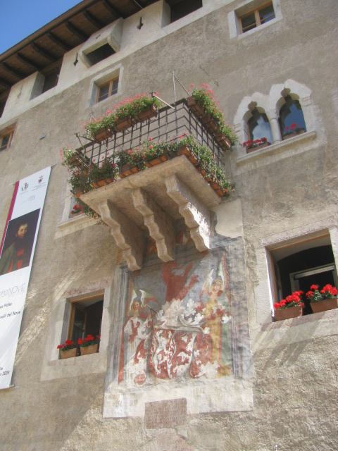 Ancient Residence of the Clesio family, Palazzo Assessorile, Cles, Val di Non