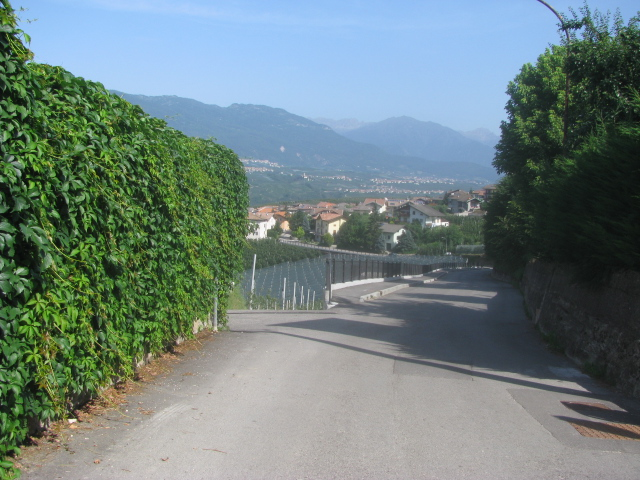 From Segno up to La Pieve and Torra