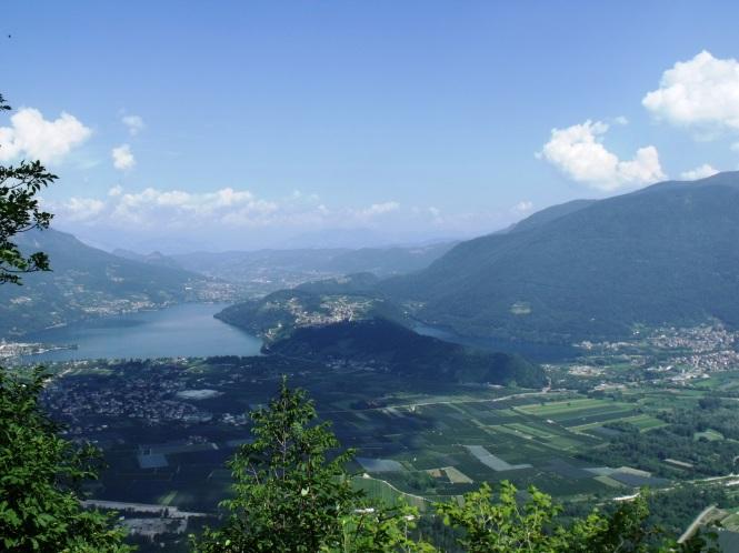 Lake Levico & Lake Caldonazzo - C 2015 by S. Caracristi