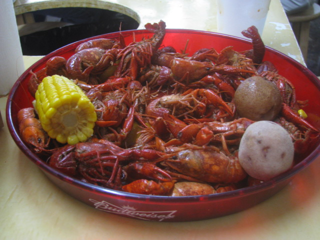 Bozo's boiled crawfish - Copyrights incl. electr. Culinary Roots 2016