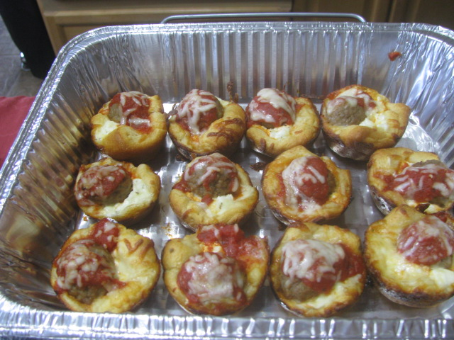 Caryn R's Meatball Cupcakes - Willoughby Wobble 2016 - All rights incl. electr. Culinary Roots 2016