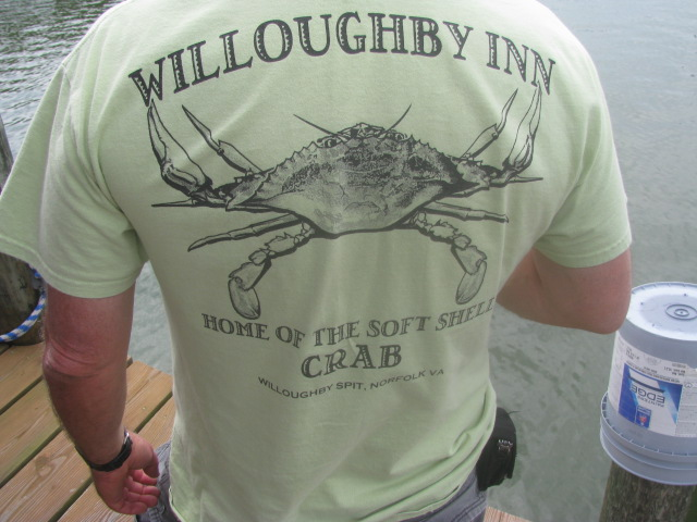 Willoughby Inn T Shirt - Willoughby Wobble 2016 - All rights incl. electr. Culinary Roots 2016