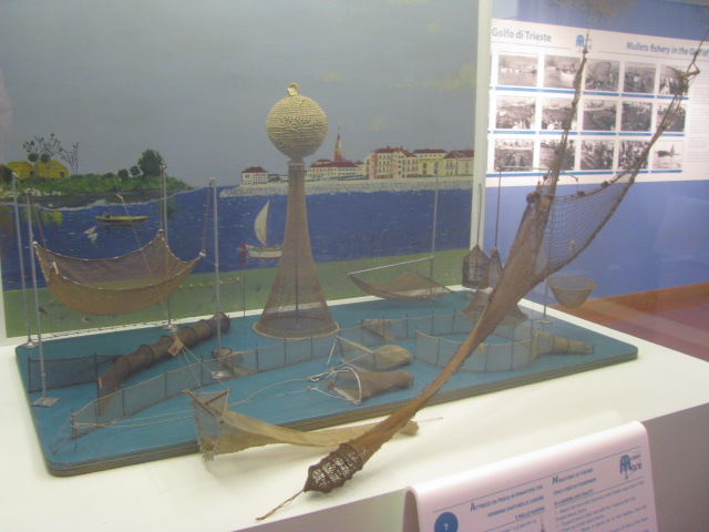 Ways to catch fish - Model - Maritime Museum Trieste - All rights incl.electr. Culinary Roots and Recipes 2016
