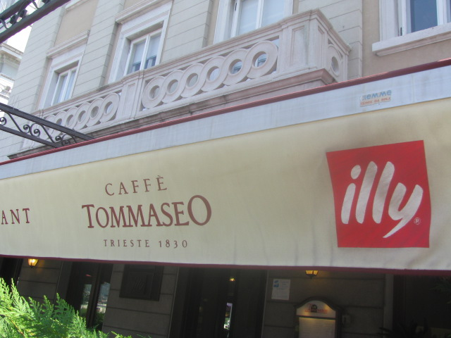 Trieste - Home to fine coffe and coffee shops - All rights reserved incl. electr. Culinary Roots and Recipes 2016