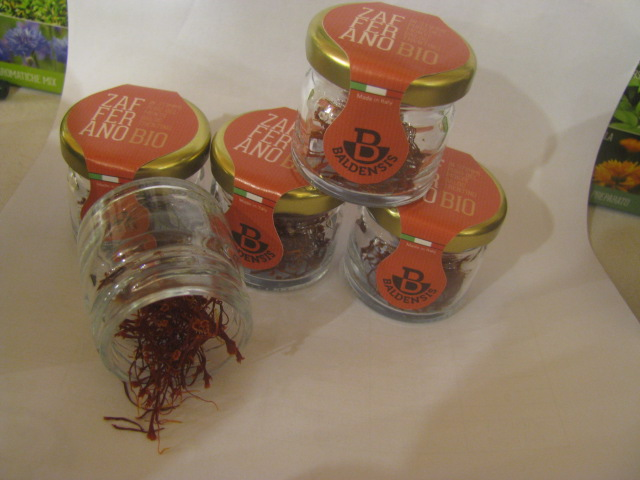 Trentino's biologically produced saffron - All copyrights incl. electr. reserved by Culinary Roots and Recipes 2016