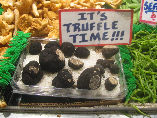 Northwestern truffles - Pike Place Market - All rights incl. electr.by Culinary Roots and Recipes 2017