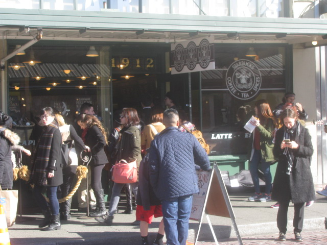 The old original Starbucks Cafe - All rights reserved incl. electr. by Culinary Roots and Recipes 2017