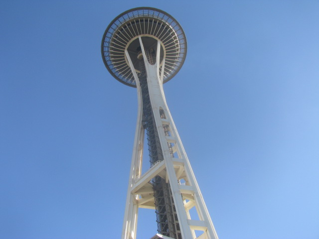 Seattle's Space Needle - All rights incl. electr. reserved by Culinary Roots and Recipes 2017