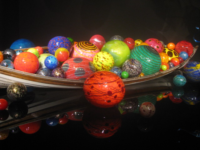 Chihuli's Garden and Glass Museum - Glass globes for Dr. Seuss? All rights reserved incl. electr. by Culinary Roots and Recipes 2017