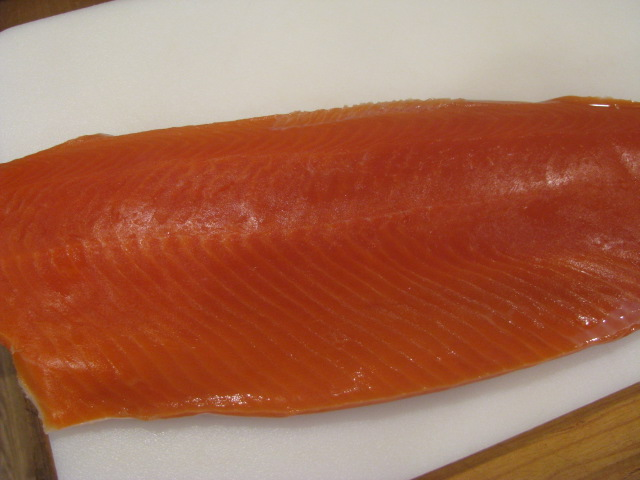 Fresh salmon fillet - All rights reserved incl. electr. by Culinary Roots and Recipes 2017