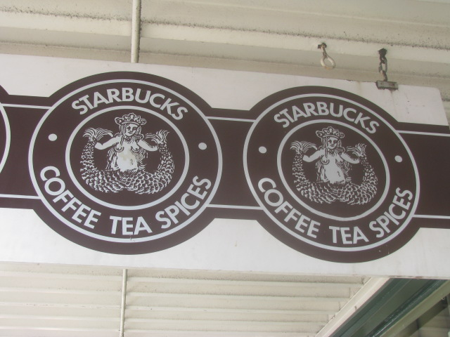 Seattle's original Starbucks logo - All rights reserved incl. electr. by Culinary Roots and Recipes 2017